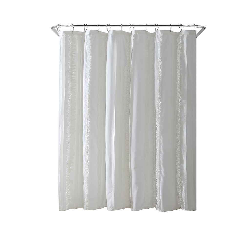 VCNY Hope Microfiber Shower Curtain