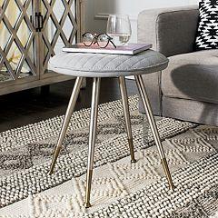 Safavieh Brinley Mid-Century Modern Stool & End Table