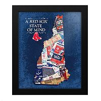 Boston Red Sox New Hampshire State of Mind Framed Wall Art