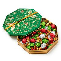 Godiva Chocolatier Assorted Chocolate Truffles Holiday Gift Tin