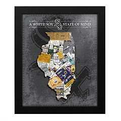 Chicago White Sox State of Mind Framed Wall Art
