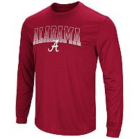 Men's Campus Heritage Alabama Crimson Tide Gradient Long-Sleeve Tee