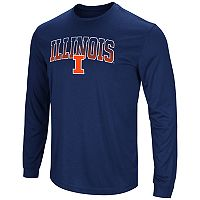 Men's Campus Heritage Illinois Fighting Illini Gradient Long-Sleeve Tee