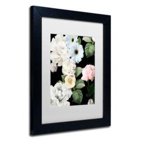 Trademark Fine Art Wallflowers Framed Wall Art