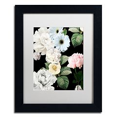 Trademark Fine Art Wallflowers Framed Wall Art