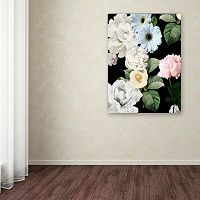 Trademark Fine Art Wallflowers Canvas Wall Art