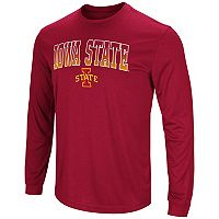 Men's Campus Heritage Iowa State Cyclones Gradient Long-Sleeve Tee