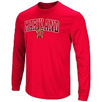 Men's Campus Heritage Maryland Terrapins Gradient Long-Sleeve Tee