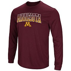 Men's Campus Heritage Minnesota Golden Gophers Gradient Long-Sleeve Tee