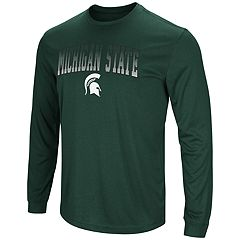 Men's Campus Heritage Michigan State Spartans Gradient Long-Sleeve Tee