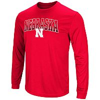 Men's Campus Heritage Nebraska Cornhuskers Gradient Long-Sleeve Tee