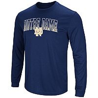 Men's Campus Heritage Notre Dame Fighting Irish Gradient Long-Sleeve Tee