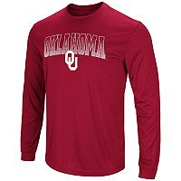 Men's Campus Heritage Oklahoma Sooners Gradient Long-Sleeve Tee