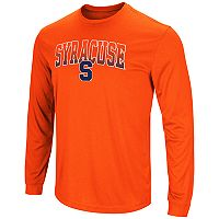 Men's Campus Heritage Syracuse Orange Gradient Long-Sleeve Tee