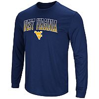 Men's Campus Heritage West Virginia Mountaineers Gradient Long-Sleeve Tee