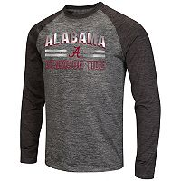 Men's Campus Heritage Alabama Crimson Tide Raven Long-Sleeve Tee
