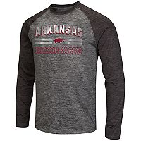 Men's Campus Heritage Arkansas Razorbacks Raven Long-Sleeve Tee