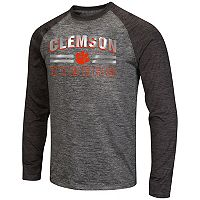 Men's Campus Heritage Clemson Tigers Raven Long-Sleeve Tee