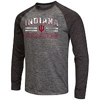 Men's Campus Heritage Indiana Hoosiers Raven Long-Sleeve Tee