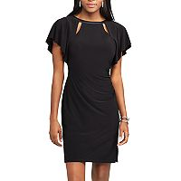 Women's Chaps Flutter Sheath Dress