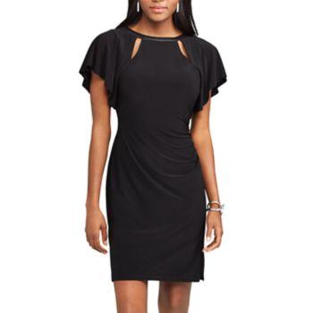 Women's Chaps Flutter Sheath Dress