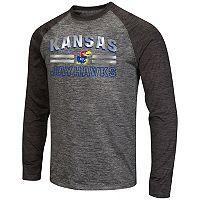 Men's Campus Heritage Kansas Jayhawks Raven Long-Sleeve Tee