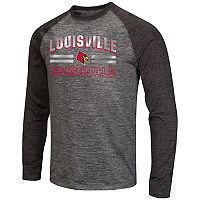 Men's Campus Heritage Louisville Cardinals Raven Long-Sleeve Tee