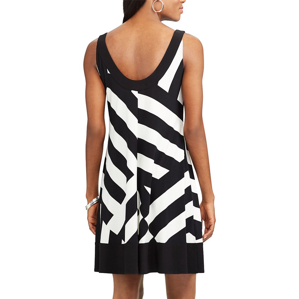 Women's Chaps Striped A-Line Dress
