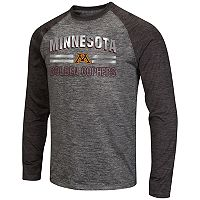 Men's Campus Heritage Minnesota Golden Gophers Raven Long-Sleeve Tee