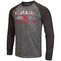Men's Campus Heritage Nebraska Cornhuskers Raven Long-Sleeve Tee