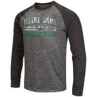Men's Campus Heritage Notre Dame Fighting Irish Raven Long-Sleeve Tee