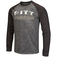 Men's Campus Heritage Pitt Panthers Raven Long-Sleeve Tee