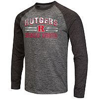 Men's Campus Heritage Rutgers Scarlet Knights Raven Long-Sleeve Tee
