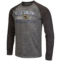 Men's Campus Heritage West Virginia Mountaineers Raven Long-Sleeve Tee