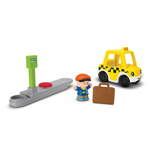 Fisher-Price Little People Small Taxi