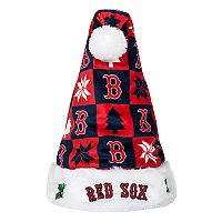 Forever Collectibles Boston Red Sox Christmas Santa Hat