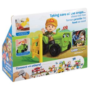 Fisher-Price Little People Small Vehicle Tractor