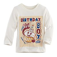 Baby Boy Jumping Beans® Birthday Softest Graphic Tee