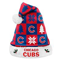 Forever Collectibles Chicago Cubs Christmas Santa Hat