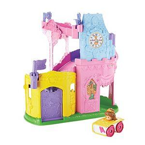 Disney Princess Little People Light & Twist Wheelies Tower By Fisher-Price