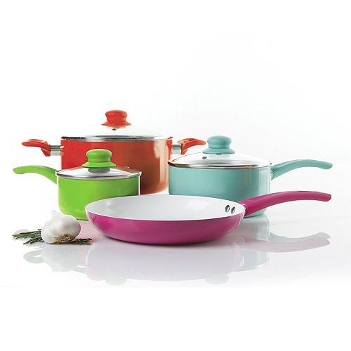 Gibson Home 7-pc. Cookware Set