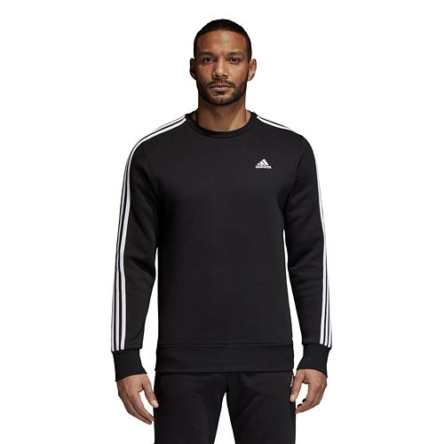 Men's adidas Essential Striped Pullover Fleece