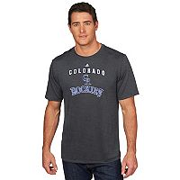 Men's Majestic Colorado Rockies Scoreboard Tee