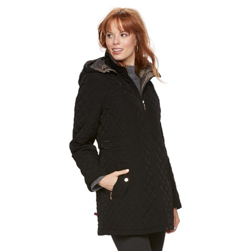 Women's Gallery Long Quilted Jacket