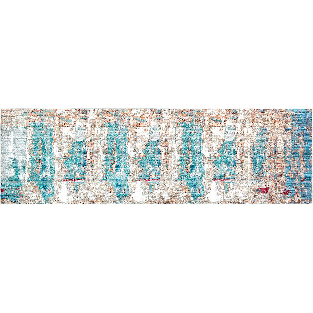 nuLOOM Vivid Silk Delisa Abstract Rug