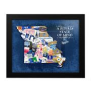 Kansas City Royals State of Mind Framed Wall Art