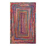 nuLOOM Nomad Tammara Striped Braided Rug