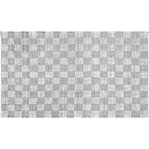nuLOOM Nomad Zofia Checkerboard Geometric Braided Rug
