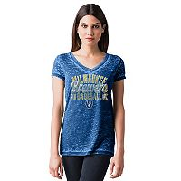 Women's Milwaukee Brewers Burnout Tee