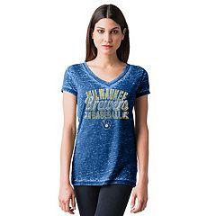 Women's Milwaukee Brewers Burnout Tee